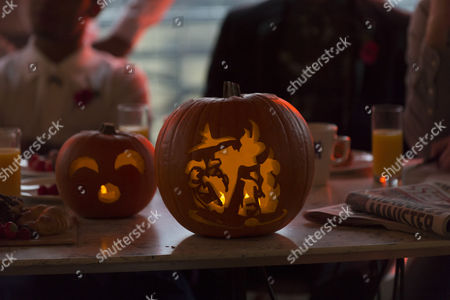 Stock Image of Pumpkin Artist David Finkle