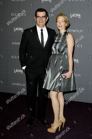 Ty Burrell & wife Holly Anne Brown
