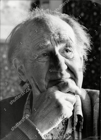Stock Image of Sir Michael Hordern Actor 1990.