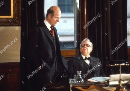 Philip Stone as Farquesson and Arthur Lowe as Herbert Morrison