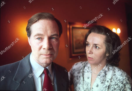 Anthony Bate as Kim Philby and Ingrid Hafner as Aileen Philby