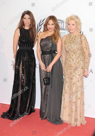 Lynda Lopez, Jennifer Lopez and Ute Henriette Ohoven