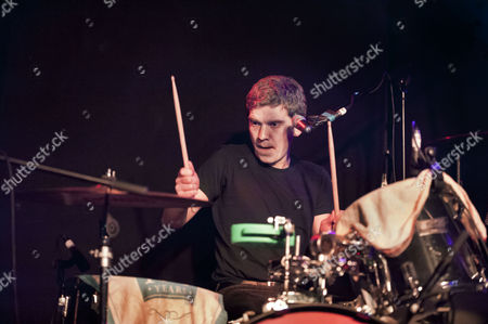 Editorial image of Field Music in concert at Slade Rooms, Wolverhampton, Britain - 12 Oct 2012