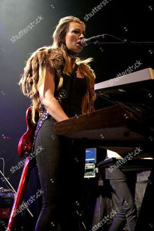 Editorial image of Sylver Tongue in concert at the HMV Forum, London, Britain - 29 Oct 2012