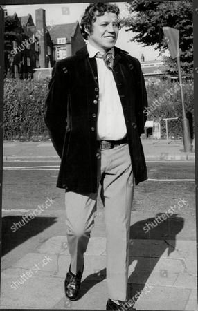 Terry Downes Former Boxer At Hendon After Being Remanded For Causing Bodily Harm To A Youth (later Acquitted) 1970.