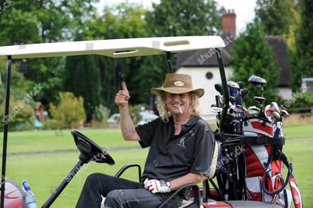Stock Picture of Kenneth Downing the Judas Priest guitarist who retired from the band this year to concentrate on his 18 hole golf course at Astbury Hall in Shropshire. So while the heavy metal rockers are on their world tour KK is enjoying life in the country.