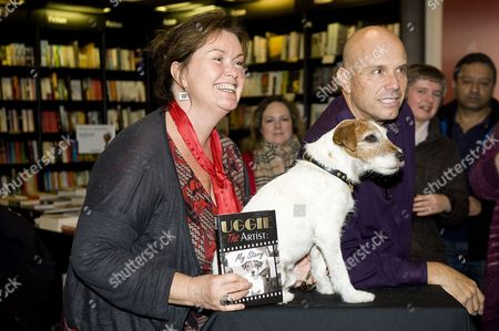 Wendy Holden author, Uggie the dog and Omar von Muller