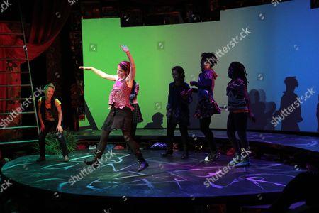 Stock Photo of Emily S. Grosland, Olivia Oguma, Molly Carden, Sade Namei, Ashley Bryant, Joaquina Kalukango