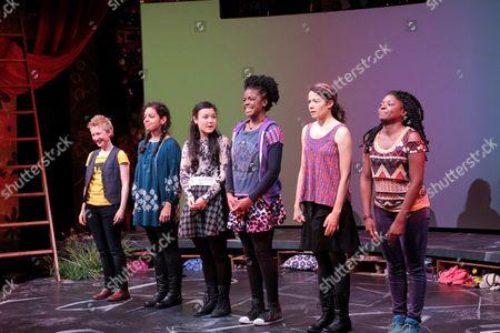 Stock Photo of Emily S. Grosland, Sade Namei, Olivia Oguma, Ashley Bryant, Molly Carden, Joaquina Kalukango