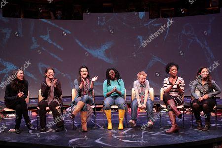 Stock Picture of Rosario Dawson, Molly Carden, Olivia Oguma, Joaquina Kalukango, Emily S. Grosland, Ashley Bryant, Sade Namei
