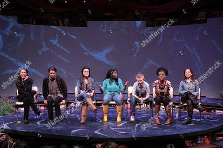 Stock Image of Rosario Dawson, Molly Carden, Olivia Oguma, Joaquina Kalukango, Emily S. Grosland, Ashley Bryant, Sade Namei