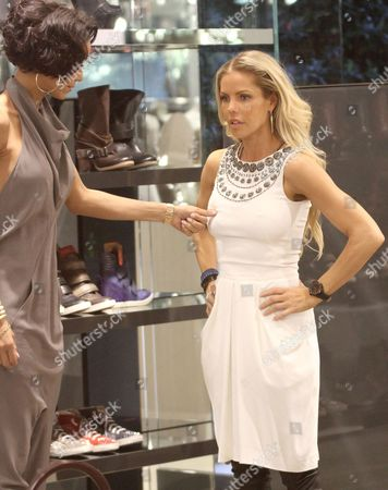 Nicole Murphy and Jessica Canseco