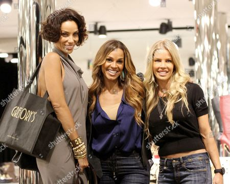 Nicole Murphy, Jessica Canseco and Sheree Fletcher