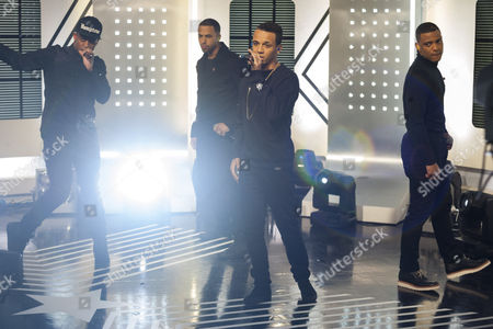 JLS - Ortise Williams, Marvin Humes, Aston Merrygold and Jonathan Gill