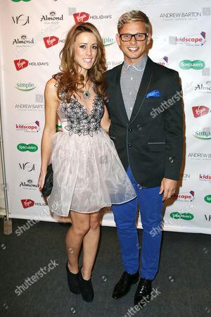Jeff Brazier and Nicola T