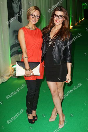 Lucy Jo Hudson and Carolynne Poole
