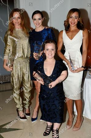 Stella McCartney, Victoria Pendleton, Eleanor Simmonds and Jessica Ennis