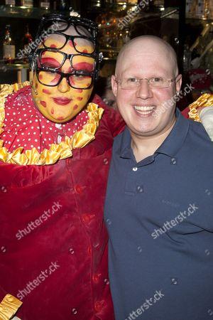 Stock Photo of Sam Buttery (Leigh Bowery) and Matt Lucas