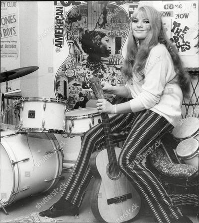 Editorial image of Dana Gillespie Actress.