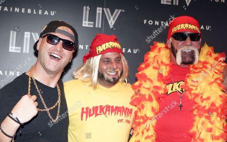 Stock Photo of Nick Hogan and Hulk Hogan