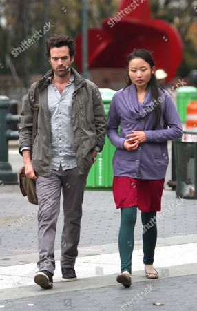 Romain Duris and Li Jun Li