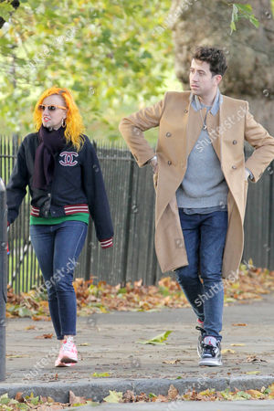 Nick Grimshaw (R) and Aimee Phillips