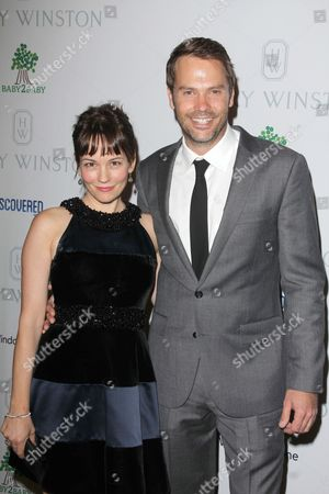 Stock Picture of Natasha Gregson Wagner and Barry Watson