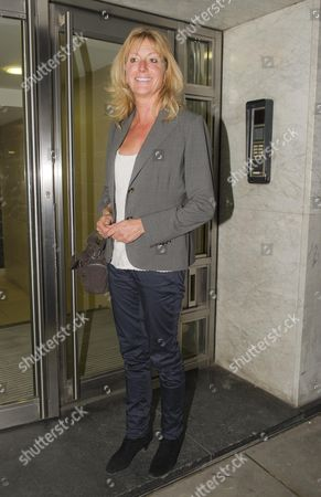 Alex Hall Jeremy Clarkson's First Wife. Clarkson Has Let A Legal Injunction Go In Relation To An Alleged Affair With His Ex Wife. With Max Clifford Outside His Mayfair Offices.