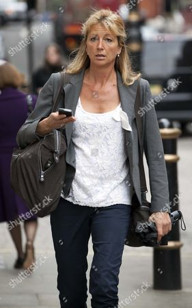 Alex Hall Ex Wife Of Jeremy Clarkson Arrives At Max Clifford's Offices In Mayfair This Morning.