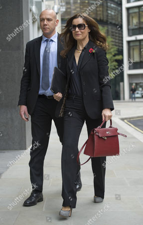 Yelena Gorbunova Girlfriend Of Boris Berezovsky Appearing At The High Court In London On The Day Tht Roman Abramovich Is Giving Evidence. 31/10/11.