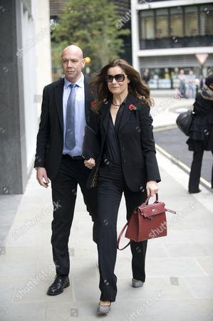 Yelena Gorbunova Girlfriend Of Boris Berezovsky Arrives At The High Court Today Picture Jeremy Selwyn 31/10/2011.