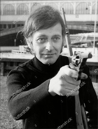 Actor Barrie Ingham With Gun Barrie Ingham (born 10 February 1932) Is An English Actor Of Stage Television And Film Ingham Was Born In Halifax West Riding Of Yorkshire The Son Of Irene (nae Bolton) And Harold Ellis Stead Ingham. He Was Educated At Heath Grammar School And Became A Royal Artillery Officer. His Major Theatre Debut Was At Manchester Library Theatre Company And Then He Moved To London's Old Vic. He Has Also Played With Many Leading Production Companies Including The Royal Shakespeare Company Mermaid Theatre Company And Royal National Theatre. He Married Tarne Ingham (1957-present).