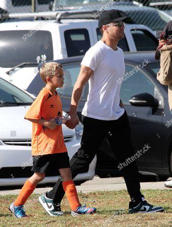 Ryan Phillippe and son Deacon Phillippe