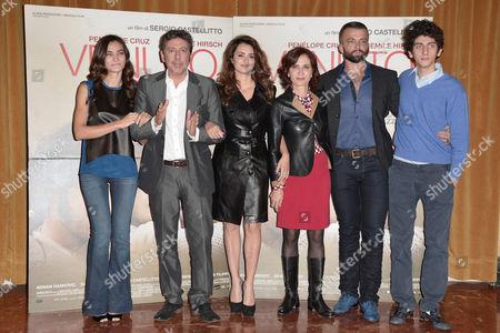 Editorial photo of 'Venuto Al Mondo' film photocall, Rome, Italy - 05 Nov 2012
