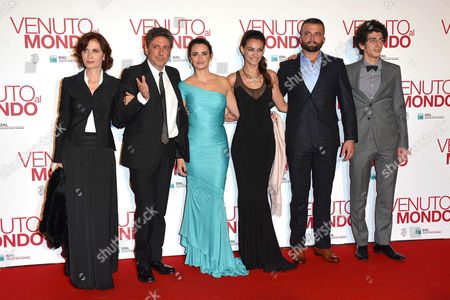Margaret Mazzantini, Sergio Castellitto, Penelope Cruz, Saadet Aksoy, Adnan Haskovic and Pietro Castellitto