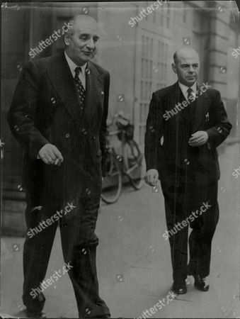 Businessman Sir Bernard Docker (left) With Captain Hector Edward Tourtel Sir Bernard Dudley Frank Docker (9 August 1896 A 22 May 1978) Was An English Industrialist. Bernard Docker Was Born In Edgbaston Birmingham The Only Child Of Frank Dudley Docker An Industrialist. Docker Was The Managing Director Of The Birmingham Small Arms Company Group Of Companies (bsa) From The Early 1940s Until 1956 And He Also Chaired The Daimler Motor Company. He Became Noted During The 1950s For Producing Show Cars Such As The 'golden Daimler' (1952) 'blue Clover' (1953) The 'silver Flash' And 'stardust' In 1954. He Was Succeeded By Jack Sangster As Chairman Of Bsa Following A 1956 Boardroom Coup. Docker's First Wife Was Jeanne Stuart (nae Ivy Sweet) A British Actress. They Married In 1933 But The Marriage Was Soon Dissolved After Pressure From Docker's Parents. His Second Wife Was Norah Collins (nae Norah Royce Turner) A Former Showgirl He Married In 1949 As Her Third Husband; She Was The Widow Of Sir William Collins The President Of Fortnum & Mason And Widow Of Clement Callingham The Head Of Henekeys Wine And Spirits Merchants. The Dockers Were Often Objects Of Ridicule Because Of The Ostentatious Flaunting Of Their Wealth. In The 1950s They Bought And Lavishly Redecorated Glandyfi Castle In Wales.[1]the Comedian Frankie Howerd Would Often Refer To People As 'looking A Bit Like Lady Docker'. Lady Docker Retorted By Saying That She Had Brought 'a Bit Of Glamour To The Business Of Making Motorcycles'. Sir Bernard And Lady Docker Are Both Buried In The Churchyard Of St James The Less Stubbings Near Maidenhead In Berkshire Along With Norah's First Husband Clement Scott Callingham And Their Daughter Felicity.