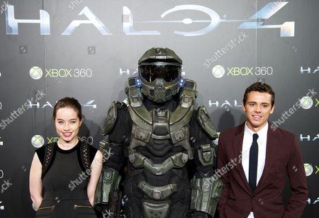 Editorial photo of 'Halo 4: Forward Unto Dawn' film Premiere, Madrid, Spain - 05 Nov 2012