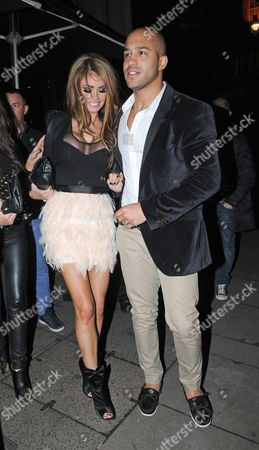Editorial image of Celebrities at Aura nightclub, London, Britain - 06 Nov 2012