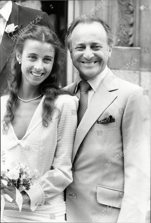 Actor And Television Presenter David Jacobs With Daughter Actress Emma Jacobs At Her Wedding To Stuart Mcloud At Chelsea Register Office David Lewis Jacobs Cbe (born 19 May 1926) Is A British Actor And Broadcaster Who Gained Prominence As Presenter Of The 1960s Peak-time Bbc Television Show Juke Box Jury And Chairman Of The Bbc Radio 4 Political Forum Any Questions?.