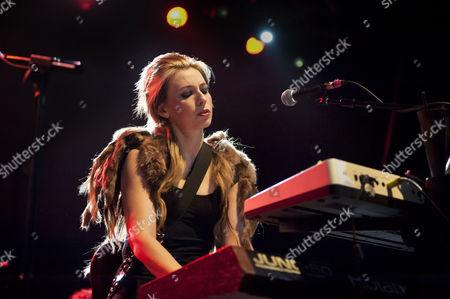 Editorial picture of Sylver Tongue in concert at the Birmingham HMV, Birmingham, Britain - 01 Nov 2012
