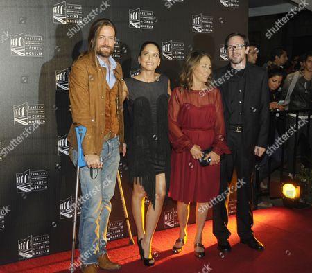 Editorial picture of 'The sale of Paradise' film premiere at Morelia Film Festival, Morelia, Mexico - 06 Nov 2012