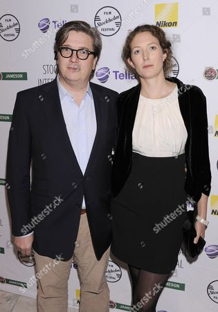 Stock Photo of Tomas Alfredson and Charlotte Oberg