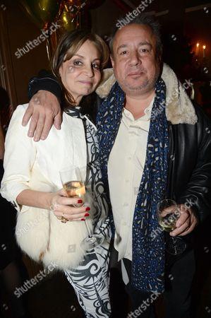 Carol Siller and Hamish McAlpine