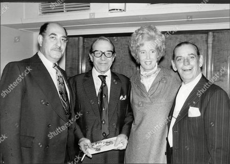 Actor Jimmy Jewel At His Party L-r Alfred Marks Jimmy Jewel Lady Falkender And Ben Warriss James Arthur Thomas Jewel Marsh Known As Jimmy Jewel (4 December 1909[1] A 3 December 1995) Was An English Television And Film Actor. The Son Of A Comedian And Actor Who Also Used The Stage Name Jimmy Jewel The Youngster Made His Stage Debut In Robinson Crusoe In Barnsley At The Age Of Four Performed With His Father From The Age Of 10 And Subsequently Became Stage Manager For The Family Show. When Young Jimmy Started His Own Act His Father Refused To Let Him Use His Stage Name 'jimmy Jewel' So He Performed As Maurice Marsh; The Name Was Chosen Because He Was Often Seen Doing Maurice Chevalier Impressions. He Made His First London Stage Appearance At The Bedford Music Hall Camden Town In 1925 And Worked As A Solo Act Until 1934. Jewel's Early Career Was As Part Of A Double Act With Ben Warriss (1909a93) Who Together Made Regular Television Appearances In The 1950s After A Popular Radio Comedy Series Up The Pole In The Post-war Years. The Premise Of Up The Pole Was That Jewel And Warriss Maintained A Residence At The North Pole Although It Was Never Explained Why They Chose To Live There. The Pair Who Were Reputed To Be Britain's Leading Double-act In Variety Were Top Of The Bill In Two London Palladium Shows - 'gangway' And 'high Time'. They Toured Australia And America As Well As Appearing In The 1946 Royal Variety Performance And Five Pantomimes For Howard And Wyndham At The Opera House Blackpool Lancashire.