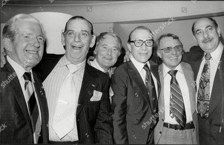 Actor Jimmy Jewel At Savoy Lunch L- Ted Ray Ben Warriss Ernie Wise Jimmy Jewel Dickie Henderson And Alfred Marks James Arthur Thomas Jewel Marsh Known As Jimmy Jewel (4 December 1909 A 3 December 1995) Was An English Television And Film Actor. The Son Of A Comedian And Actor Who Also Used The Stage Name Jimmy Jewel The Youngster Made His Stage Debut In Robinson Crusoe In Barnsley At The Age Of Four Performed With His Father From The Age Of 10 And Subsequently Became Stage Manager For The Family Show. When Young Jimmy Started His Own Act His Father Refused To Let Him Use His Stage Name 'jimmy Jewel' So He Performed As Maurice Marsh; The Name Was Chosen Because He Was Often Seen Doing Maurice Chevalier Impressions. He Made His First London Stage Appearance At The Bedford Music Hall Camden Town In 1925 And Worked As A Solo Act Until 1934. Jewel's Early Career Was As Part Of A Double Act With Ben Warriss (1909a93) Who Together Made Regular Television Appearances In The 1950s After A Popular Radio Comedy Series Up The Pole In The Post-war Years. The Premise Of Up The Pole Was That Jewel And Warriss Maintained A Residence At The North Pole Although It Was Never Explained Why They Chose To Live There. The Pair Who Were Reputed To Be Britain's Leading Double-act In Variety Were Top Of The Bill In Two London Palladium Shows - 'gangway' And 'high Time'. They Toured Australia And America As Well As Appearing In The 1946 Royal Variety Performance And Five Pantomimes For Howard And Wyndham At The Opera House Blackpool Lancashire.