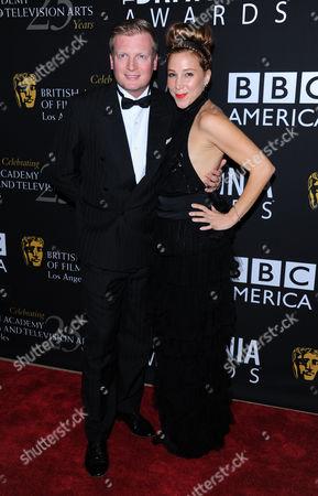 Chris Lythgoe and Becky Baeling