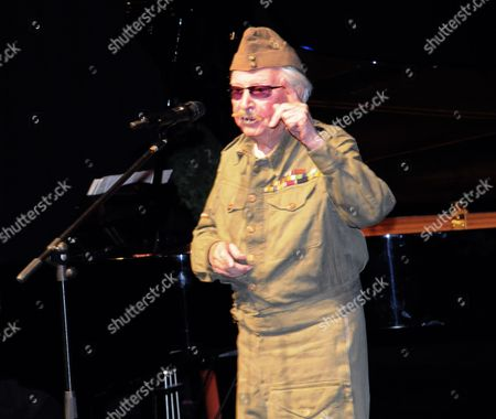 Editorial picture of Clive Dunn performs as Corporal Jones, the Algarve, Portugal - 05 Nov 2011