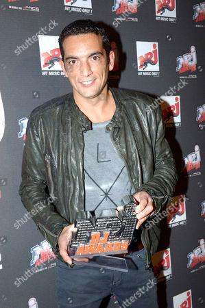 Editorial image of NRJ DJ Awards in Monaco - 07 Nov 2012