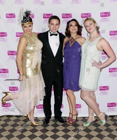 Hannah Young, Jack Glover Gunn, Susan Young and Michelle Boynton
