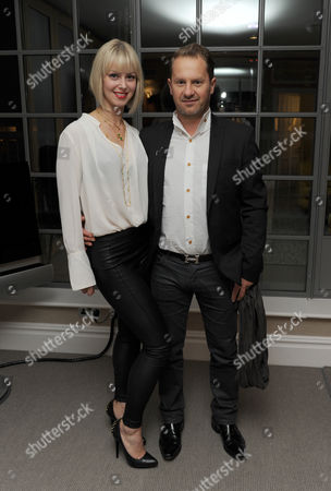 Editorial photo of Meg Mathew's jewellery launch at Soho Hotel, London, Britain - 08 Nov 2012